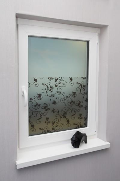 Fensterfolie Motiv Tendril verschiedene Größen