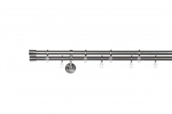 Gardinenstange auf Maß Zylinder 2-lauf Vorhangstange